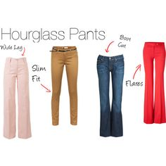 Hourglass Pants by havilarna on Polyvore featuring Vila Milano, 7 For All Mankind, Etro and Ichi