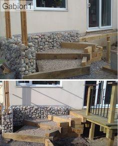 gabion wall around patio stepes http://www.gabion1.co.uk
