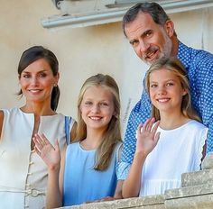 Spanish Royal family visited Son Marroig Museum in Palma 2019