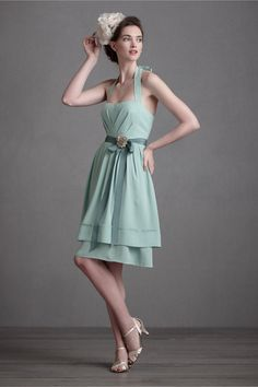 Sunroom Dress in SHOP Bridesmaids & Partygoers Bridesmaid & Party Dresses at BHLDN      <3 cute!