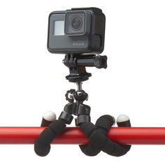 Mini Cell Phone Tripod - AnyMore Flexible Tripod with Bluetooth Remote and Universal Clip for iPhone, Android Phone, Camera, Sports Camera Cool Fidget Spinners, Phone Tripod, Bluetooth Remote, Sports Camera, Edc, Flexibility, Android, Steel, Iphone