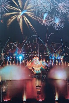 April 10th, 1992: the Grand Opening Day for the Euro Disney hotels and Festival Disney (now Disney Village) culminated with a fireworks display on Lake Buena Vista (now Lake Disney)