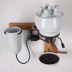 Porcelain Espresso Machine