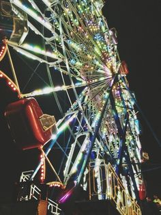 Have a cheesy carnival date with someone I love complete with a night time ride on the ferris wheel
