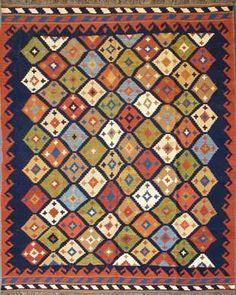 Ghaschghai Kelim 248 x 200 cm