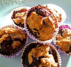 Minimuffins met bosbessen