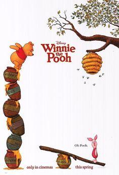 Winnie the Pooh #bees #piglet