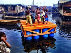 Makoko Floating School, Lagos, 2013 - NLÉ