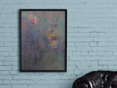 Original Acrylic Colorful Flowers Painting  by RanaMuasherArt