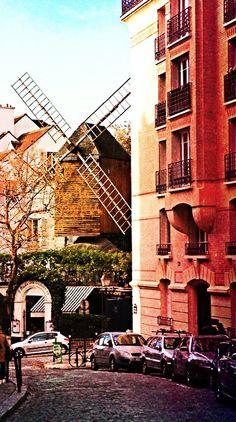 A mill near Montmartre in Paris