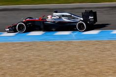 Jenson Button day 4 of testing Jerez