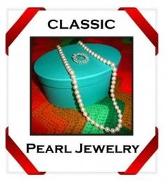 When I wear pearl jewelry, it feels like I'm stepping into Jackie Kennedy's timeless style and elegance. And my Mom's quiet grace. See, the pearl...