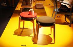 TREX-casa1796-MILANO 2012 Architecture Design, Stool, Furniture, Home Decor, Architecture Layout, Decoration Home, Room Decor, Home Furnishings, Home Interior Design
