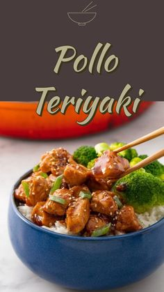 pollo Teriyaki - cucina giapponese in versione fit e light I Love Food, Good Food, Yummy Food, Tasty, Pollo Light, Cena Light, Asian Recipes, Healthy Recipes, Exotic Food