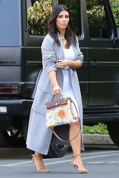 50bd034f9db Kim Kardashian Carried North West s Finger-Painted Birkin. Hermes BagsLove  Her ...