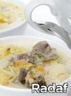 Receta de Sopa rusa de repollo