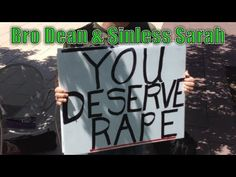 'You Deserve Rape' Sign Held By 'Brother Dean' Outrages University Of Arizona Students (VIDEO)
