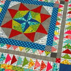 Quiltycat: Medallion quilt done