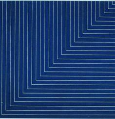 socialclaustrophobia: Frank Stella (American, b. 1936) / Hampton Roads (1961)