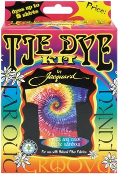 Jacquard Products Tie Dye Kit: Funky & Groovy