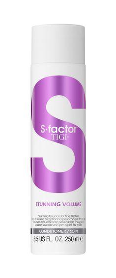 Tigi S-factor Stunning Volume Conditioner 250ml.