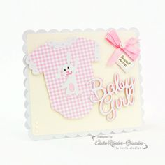 Today I'm sharing a card made using one of the new Corner Die s from Tonic Studios. These sets contains two beautiful dies – a decorative corner die and a verso backing plate die. New Baby Products, Card Making, Studios, Cards, Stamps, Blog, Pictures, Silhouette, Design