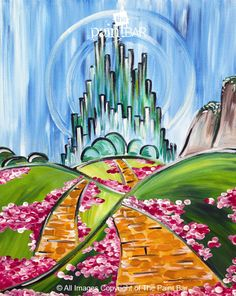 The Wizard of Oz Sing Along www.thepaintbar.com