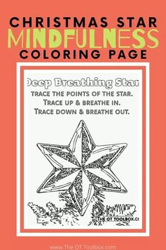 Christmas Mindfulness for Kids Sensory Integration Therapy, Occupational Therapy Activities, Mindfulness For Kids, Mindfulness Activities, Emotional Regulation, Self Regulation, Winter Activities For Kids, Color Activities, Printable Christmas Coloring Pages