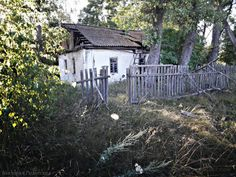 The terrible buried village of Kopachi - near Chernobyl.