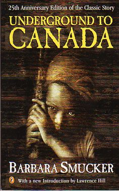"""I used to read the Underground to Canada book in January and February to Grade It tied in with February as Black History Month. One of my favourite """"deep thinking"""" books. Students seem to have remarkable insights every time I read this one. Black History Books, Black Books, Black History Month Canada, Underground Railroad, Canadian History, Books For Teens, Historical Fiction, Great Books, Childrens Books"""