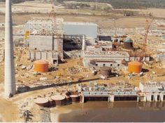 Brunswick Nuclear Plant under construction by Brown & Root, Inc. Unit 2 went online Nov. 3, 1975 and I was there. Hired on with Brown & Root, Inc. Quality Control Department in November 1973 and was transfered out in May 1976.