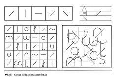 Fejlesztés - Kiss Virág - Picasa Webalbums Early Childhood, Worksheets, 3 D, Children, Infancy, Literacy Centers, Childhood, Countertops