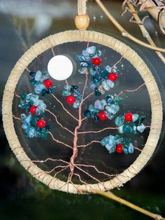 Tree of Life  Dream Catcher by Katiefaerie on Etsy, $45.00