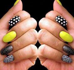 Negro-amarillo