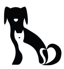 Resultado de imagen para siluetas de perros