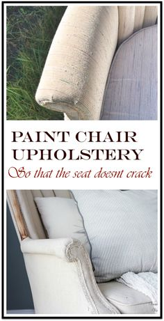 Do you guys know about my weirdness with old upholstered furniture? Well, its not all old upholstered furniture but certain fabric patterns, new or old, t