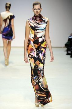 Mary Katrantzou Spring/Summer 2010 Ready-To-Wear Collection | British Vogue