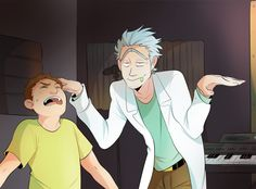 WUBBA LUBBA DUB DUB Rick and Morty | Moosoppart Tumblr
