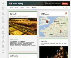 Google Plus Local Tab Redesign