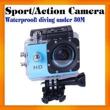 HD 720P Mini Waterproof Diving Sport camera sj4000 with 7 colors option