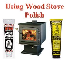 I think that for projects like refinishing a wood stove it is best to do it in the summer, when you don't need to use your woodstove right a. Cast Iron Stove, Cast Iron Fireplace, Cleaning Wood, Cleaning Hacks, Outdoor Cooking Stove, Old Stove, Antique Stove, Firewood Storage, Cooking Classes For Kids
