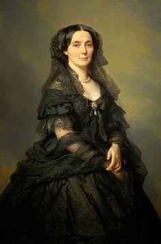 WINTERHALTER Franz Xavier - German(Menzenschwand 1805-1873) ~ Princess Kotschoubey, 1860