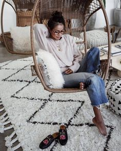 Sweater: rug tumblr white necklace gold necklace gold jewelry crescent pendant denim jeans blue