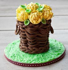 Csokoládé kosár készítése lépésről-lépésre HV: modellező csokoládé  Vásárolj meg mindent egy helyen a GlazurShopban! http://shop.glazur.hu