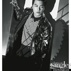 Kim Ji Hoon - Singles Magazine April Issue 13