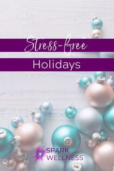 This season really can be enjoyable and heart-warming, even with the stress involved. Walking into this time of year with a great mindset and some helpful reminders gets me through every year… and I'd love to share my tips on how I do this with you. #stress-free #holidays #stress-freeholidays #holidayself-care #relax #calm #calmholidays #peacefulholidays Anxiety Relief, Stress And Anxiety, Stress Relief, Holiday Treats, Holiday Parties, Too Much Stress, Just Let It Go, Trying To Conceive, Holistic Wellness