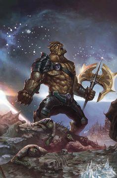 Black Dwarf, member of Thanos' Black Order | marvel comics
