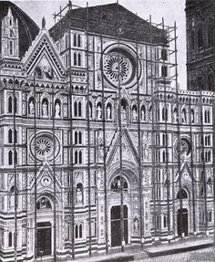 1865-1871: work in progress for the new face of the Duomo