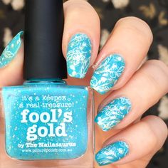 fool's gold + double stamping