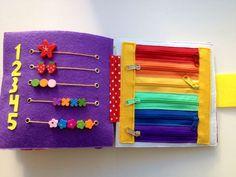Купить Развивающая книжка - развивающая игрушка, развивающая книжка, книжка из фетра, книжка из ткани